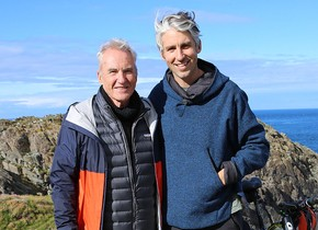 Britain By Bike with Larry and George Lamb – Series 1